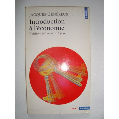 Introduction à l'économie